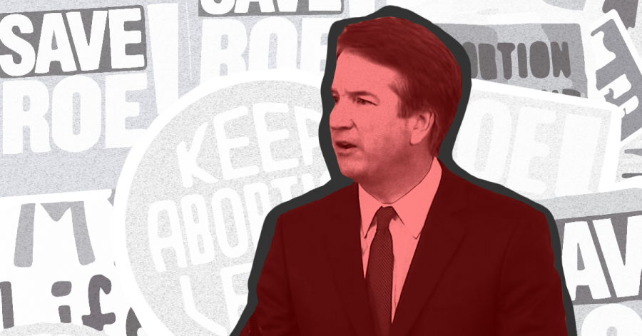 Illustration of Brett Kavanaugh