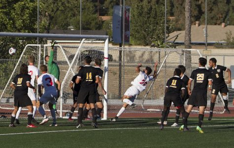 Game of shadows: Men's soccer battles for afternoon tie
