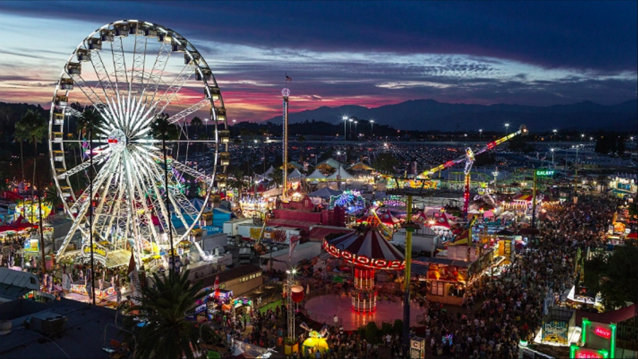 Take a day off from schoolwork at the LA County Fair