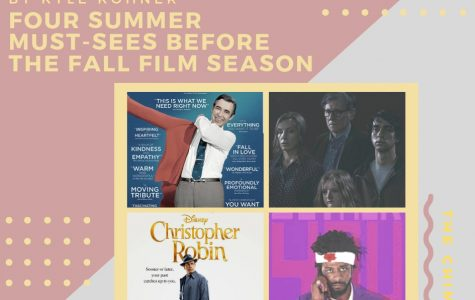 Kohner's Korner: Four summer must-sees before the fall film season
