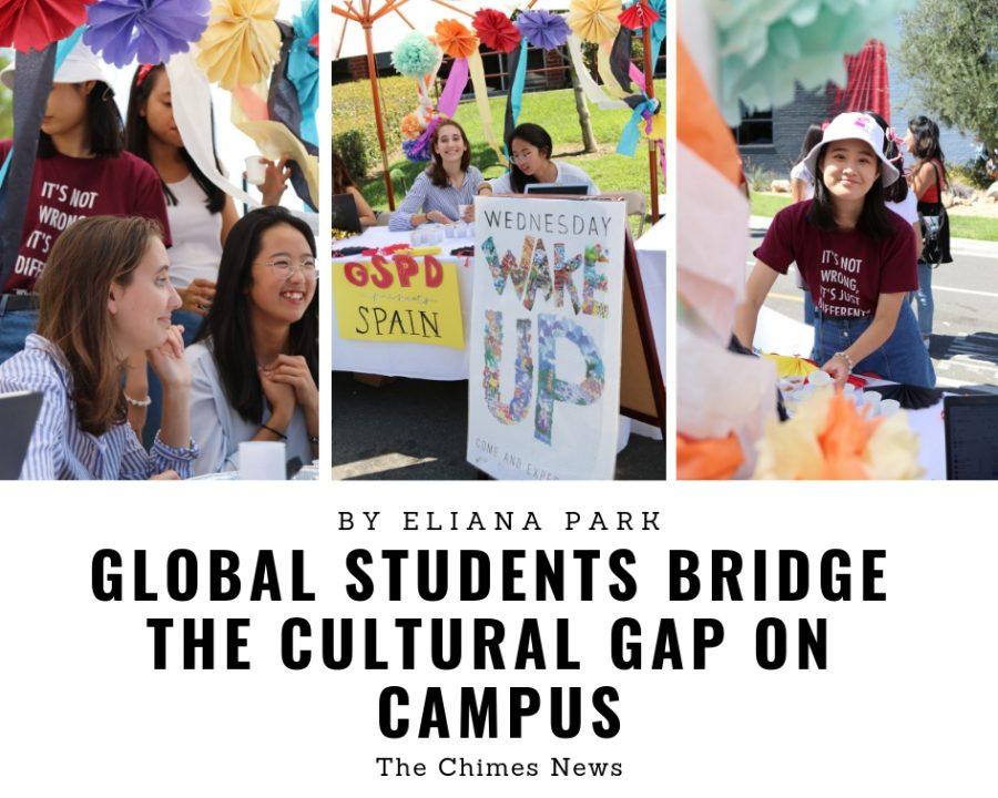 Global students bridge the cultural gap on campus
