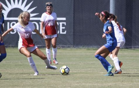 Women's Soccer Shut Out Again in Monterey