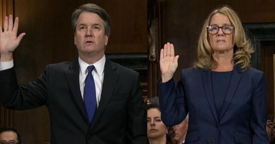 Kavanaugh and Ford side by side
