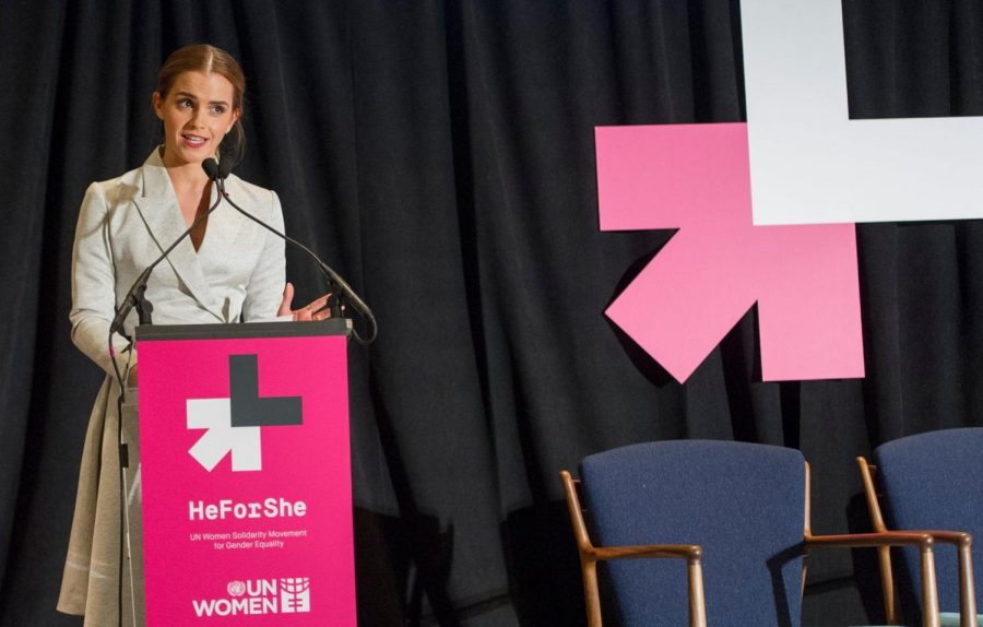 Actress Emma Watson explains equality and community in the film industry. Courtesy