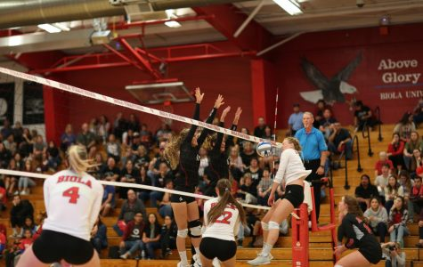 Volleyball loses four-set gut wrencher at APU