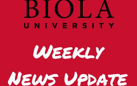 Biola university weekly news update