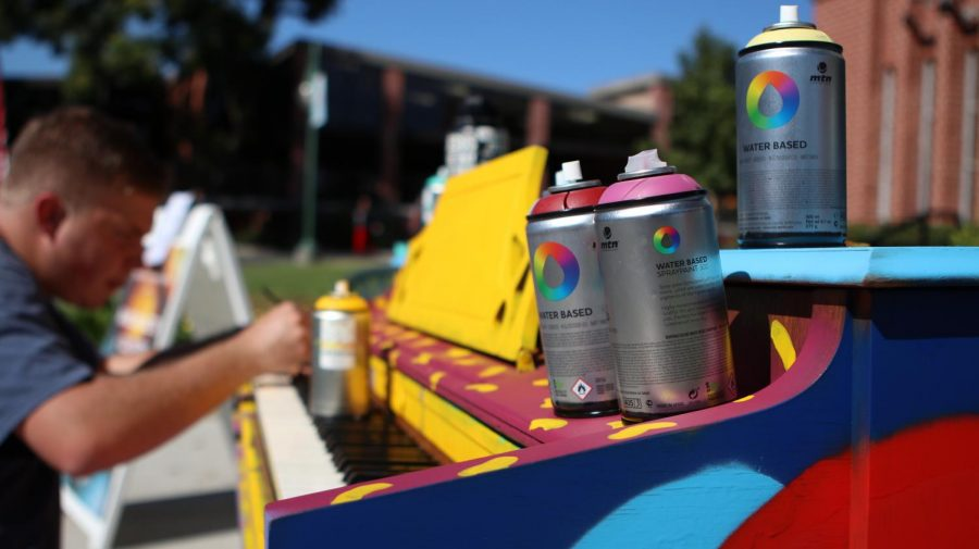 The Conservatory launches Random Acts of Culture with painted piano project