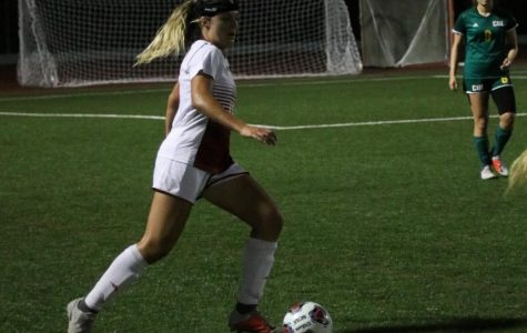 Women's soccer rides strong first half to beat Concordia