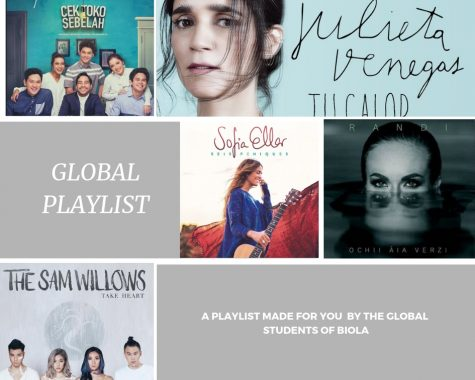 Global student's fall playlist