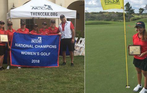 Women's golf wins NCCAA team title, Sami Penor takes individual crown