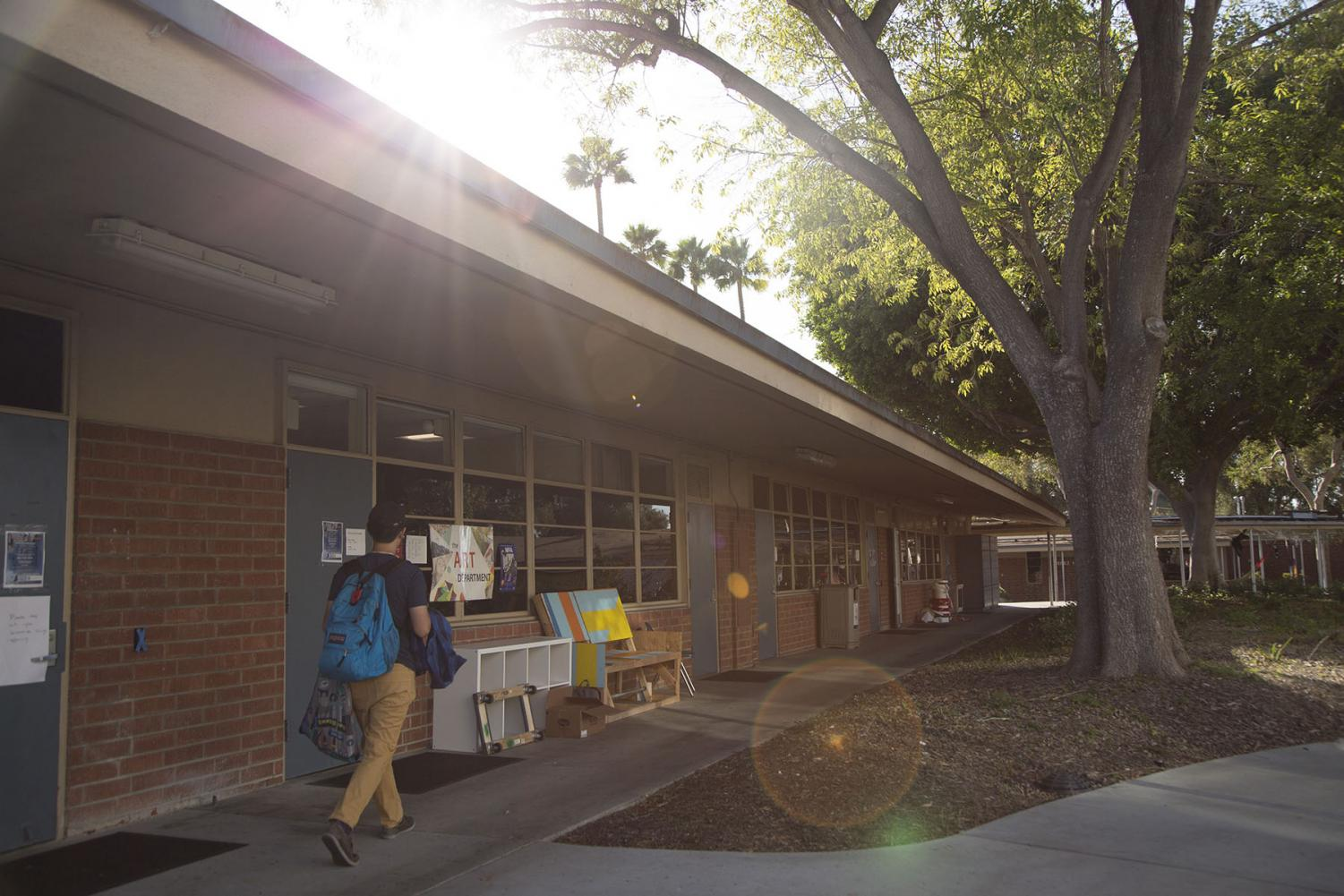 Mosquitoes have been swarming areas near the art department, particularly during the daytime and near the ceramics lab, wood shop and sculpture yard.