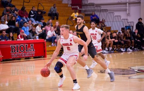 Men's basketball takes first loss of the young season