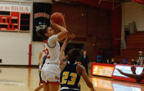 Women's basketball beats Northeastern State in Azusa