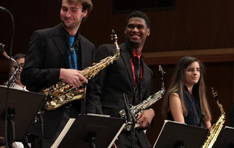 Jazz Ensemble swings the Conservatory