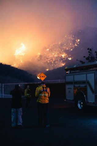 Biola community processes California blazes