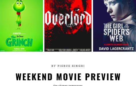Nov. 10 weekend movie preview