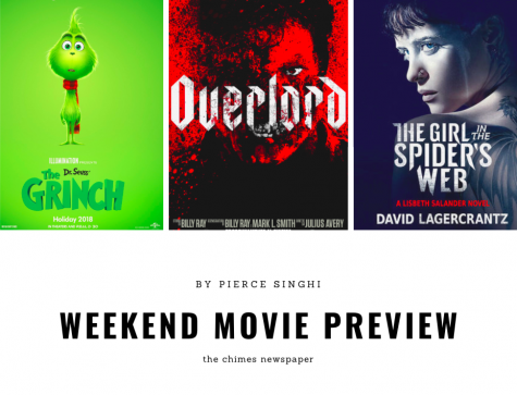 Nov. 10 weekend movie preview
