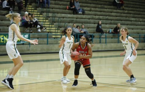 Women's basketball suffers first conference loss