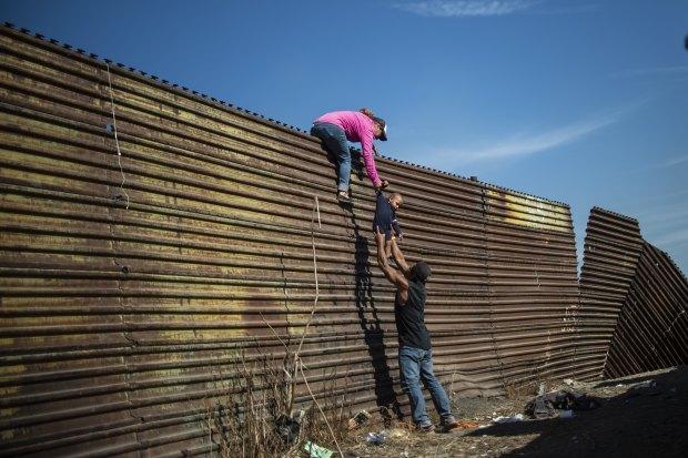 Border walls are immoral