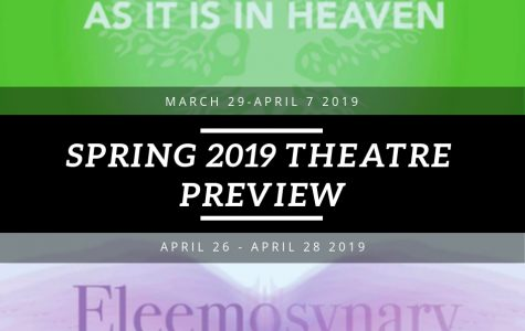 Spring 2019 theater preview