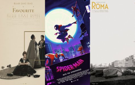 "Watch it before it's gone: ""The Favourite,"" ""Spider-Man: Into the Spider-Verse"" and ""Roma"""