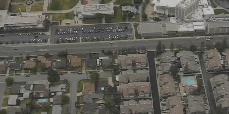 The campus of Citrus College in Glendora, pictured here, was put on lockdown on Jan. 15.
