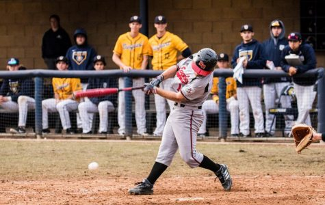 Baseball splits doubleheader at HPU