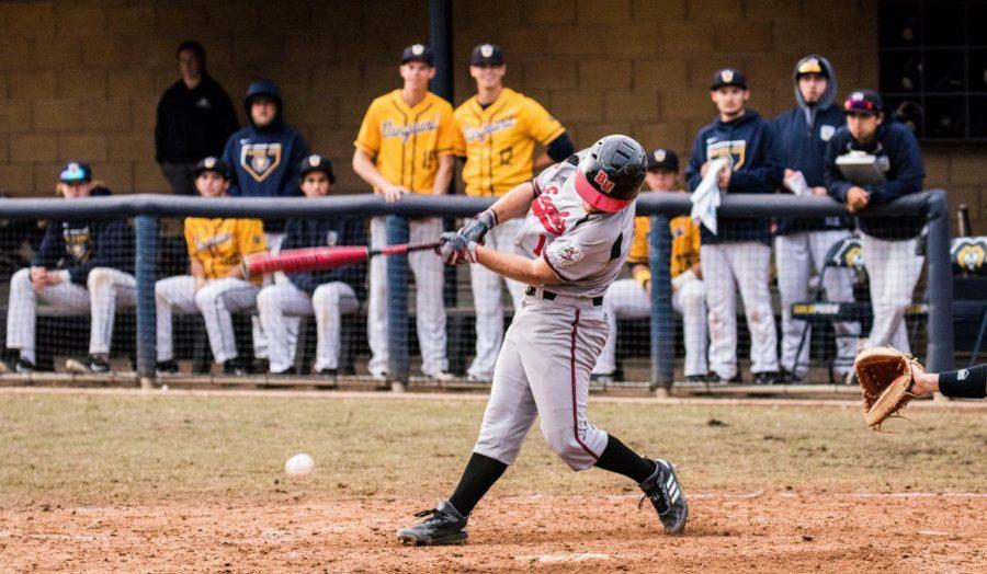 Baseball splits doubleheader at HPU