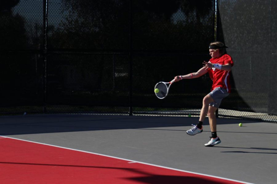 APU defeats men's tennis