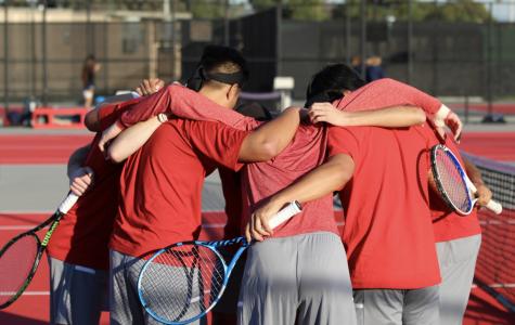 Men's tennis shuts out San Diego Christian
