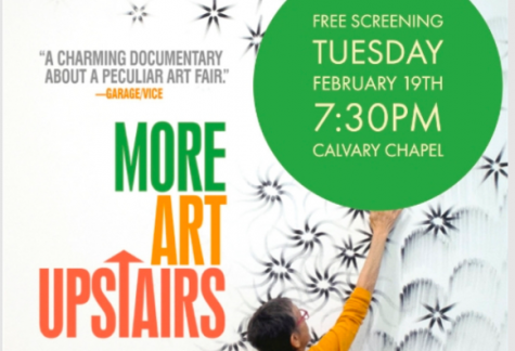 "Check out the ""More Art Upstairs"" screening"