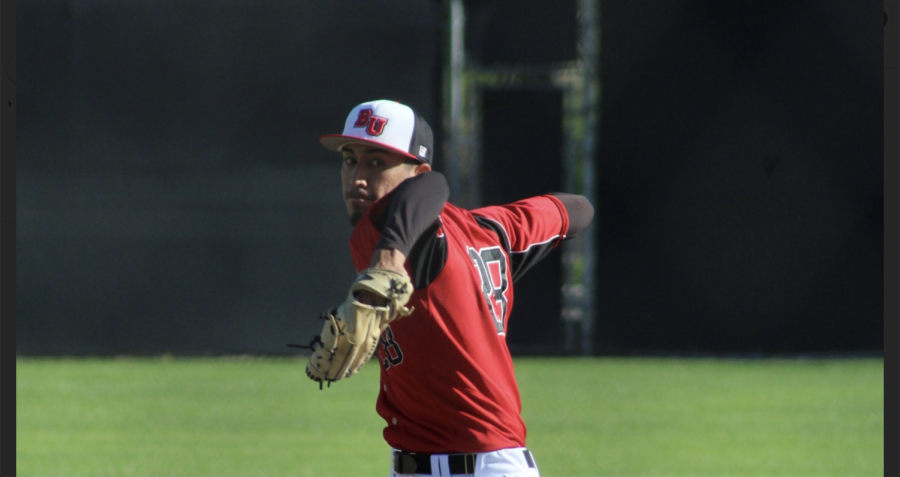 Baseball erupts for nine runs in comeback win