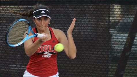 Women's tennis shut down by Cal State LA
