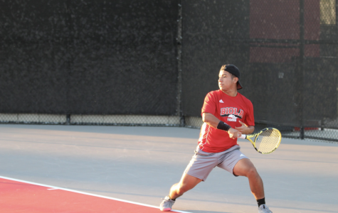 Men's tennis handles Whittier College