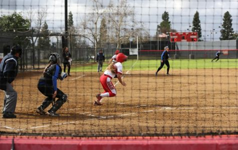Softball sweeps past HPU
