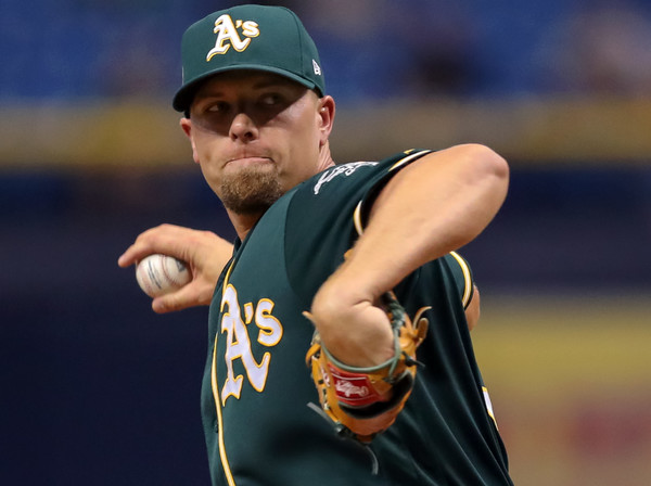 Before MLB relief pitcher Blake Treinen turned his career around and became an All-Star with the Oakland Athletics, his QOPA score, based on a formula devised by mathematics professor Jason Wilson and alumnus Jarvis Greiner, rated him on an elite level.