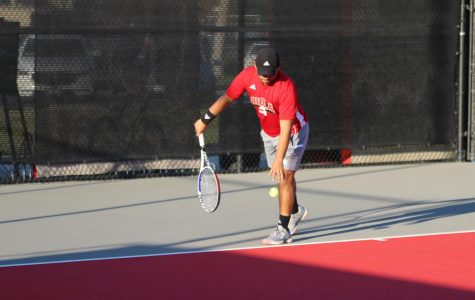 Men's tennis knocks off Rochester