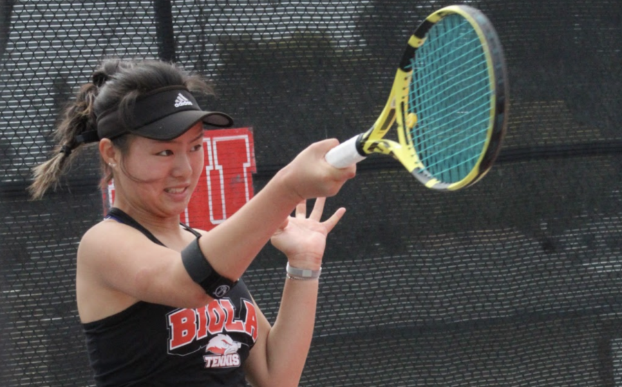 Athlete of the Week: Women's Tennis' Esther Lee