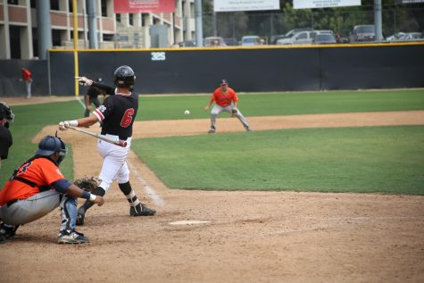 Baseball splits against APU