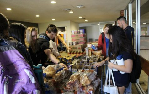 Biola Shares' Pop-Up Pantry provides students in need with food
