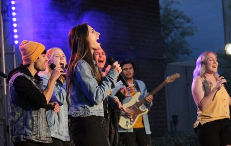 Music majors show out at popular music concert