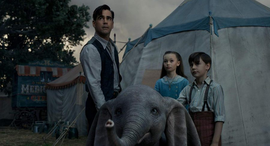 "Tim Burton gives ""Dumbo"" a new image"