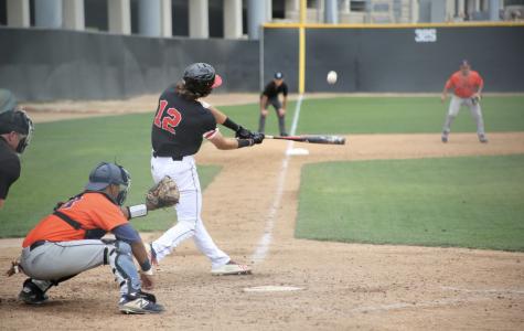 Baseball splits home doubleheader