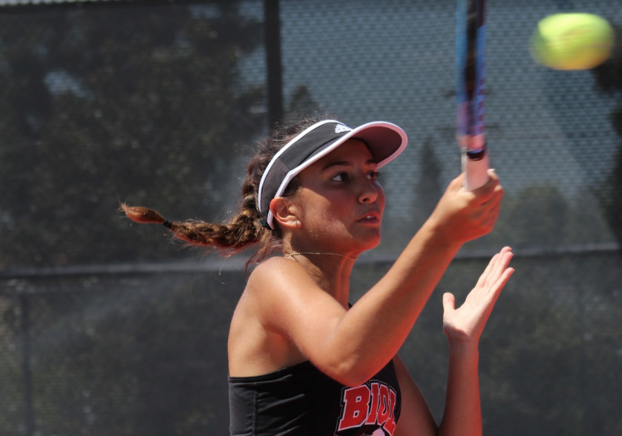 Women's tennis loses in first playoff match