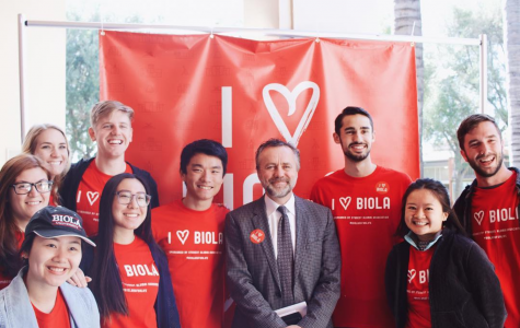 "First ever ""I Heart Biola"" week celebrates school's 111th birthday"