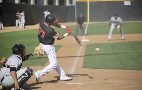 Baseball splits final doubleheader of the season
