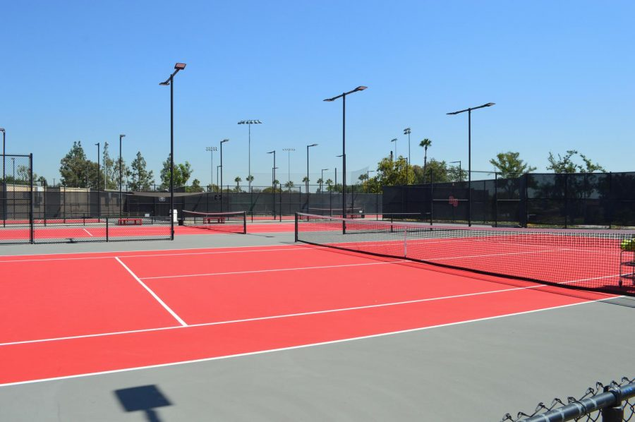 Biola Tennis Center opens up their newly renovated courts.