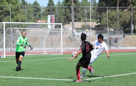 Men's soccer falls short in double overtime