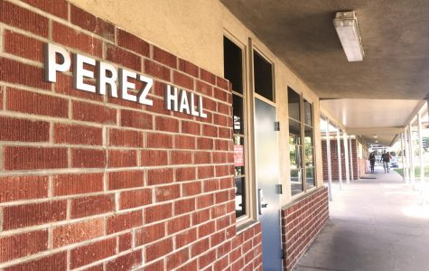 Perez Hall, located on lower campus, is home to those in the journalism and public relations department.