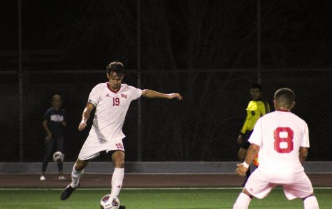 Men's soccer drop second road game